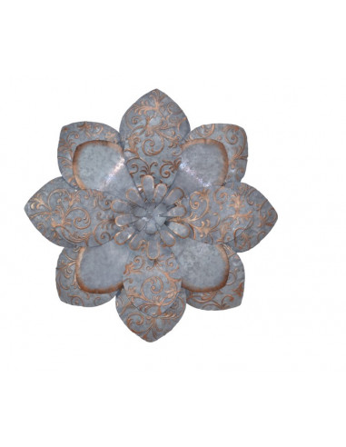 DECORATION MURALE METAL FLOWER