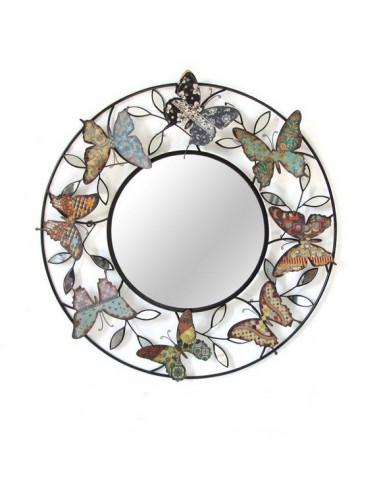 DECO MURALE MIROIR papillon
